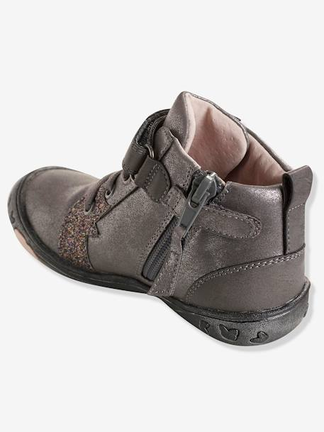 Bottines fille collection maternelle Gris 5 - vertbaudet enfant