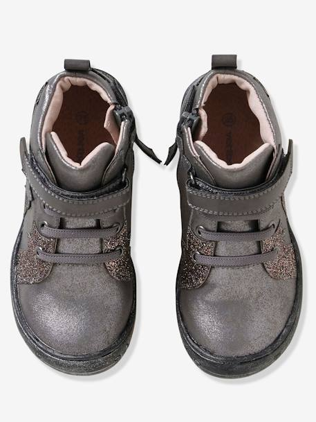 Bottines fille collection maternelle Gris 2 - vertbaudet enfant