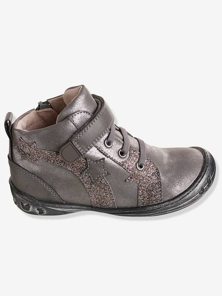 Bottines fille collection maternelle Gris 1 - vertbaudet enfant