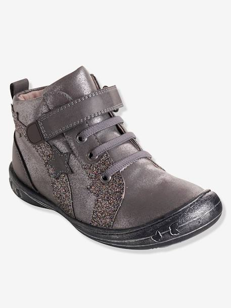 Bottines fille collection maternelle Gris 3 - vertbaudet enfant