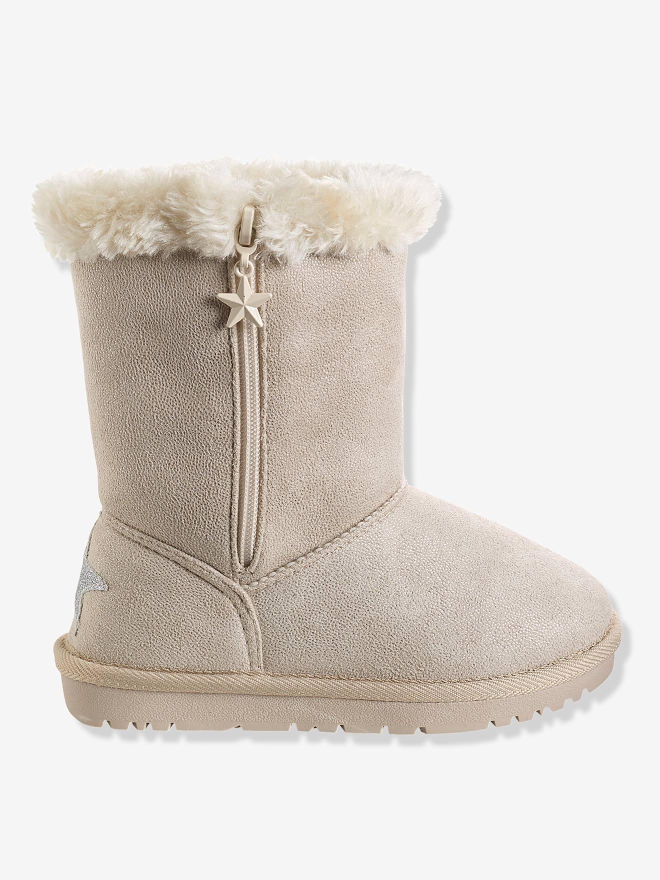 Chaussures,Bottes fourrées fille
