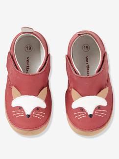 25c4c21efb6db Chaussures-Chaussures bébé 16-26-Chaussons-Chaussons bébé cuir souple