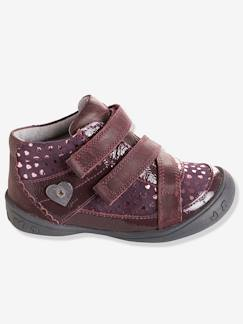 Chaussures enfants-Bottines cuir fille collection maternelle