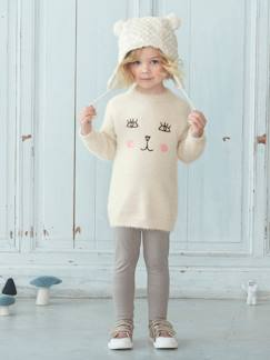 Collection maternelle-Fille-Ensemble fille pull maille + legging