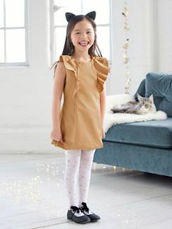 Outlet-Robe de cérémonie fille en satin irisé