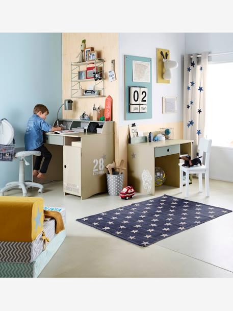 Chauffeuse scarab e gris vert vertbaudet - Chauffeuse chambre enfant ...