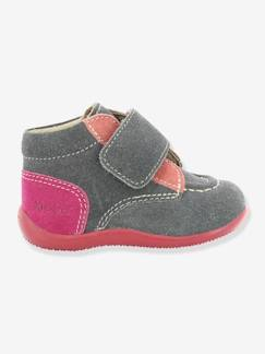 Chaussures-Bottines bébé fille Bono KICKERS® à patte scratch