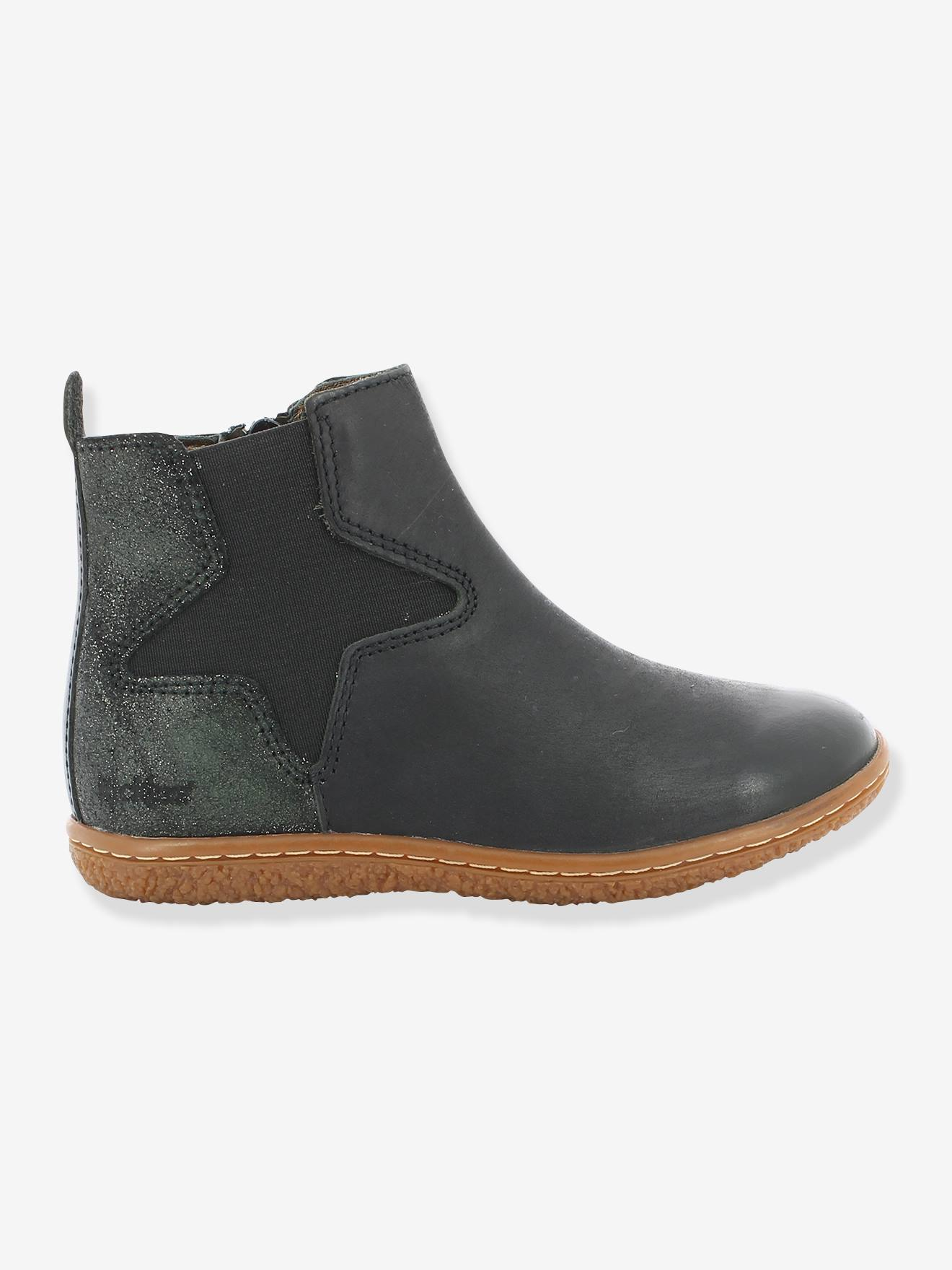 Boots fille Vermillon KICKERS® marine Kickers