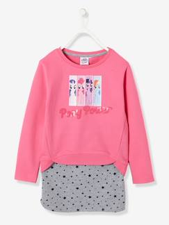 Fille-Jupe-Ensemble sweat + jupe fille My little pony® en molleton