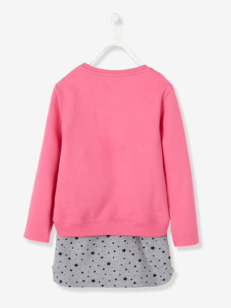 Ensemble sweat + jupe fille My little poney® en molleton Rose 3 - vertbaudet enfant