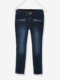 Fille-Pantalon skinny fille en denim tour de hanches MEDIUM