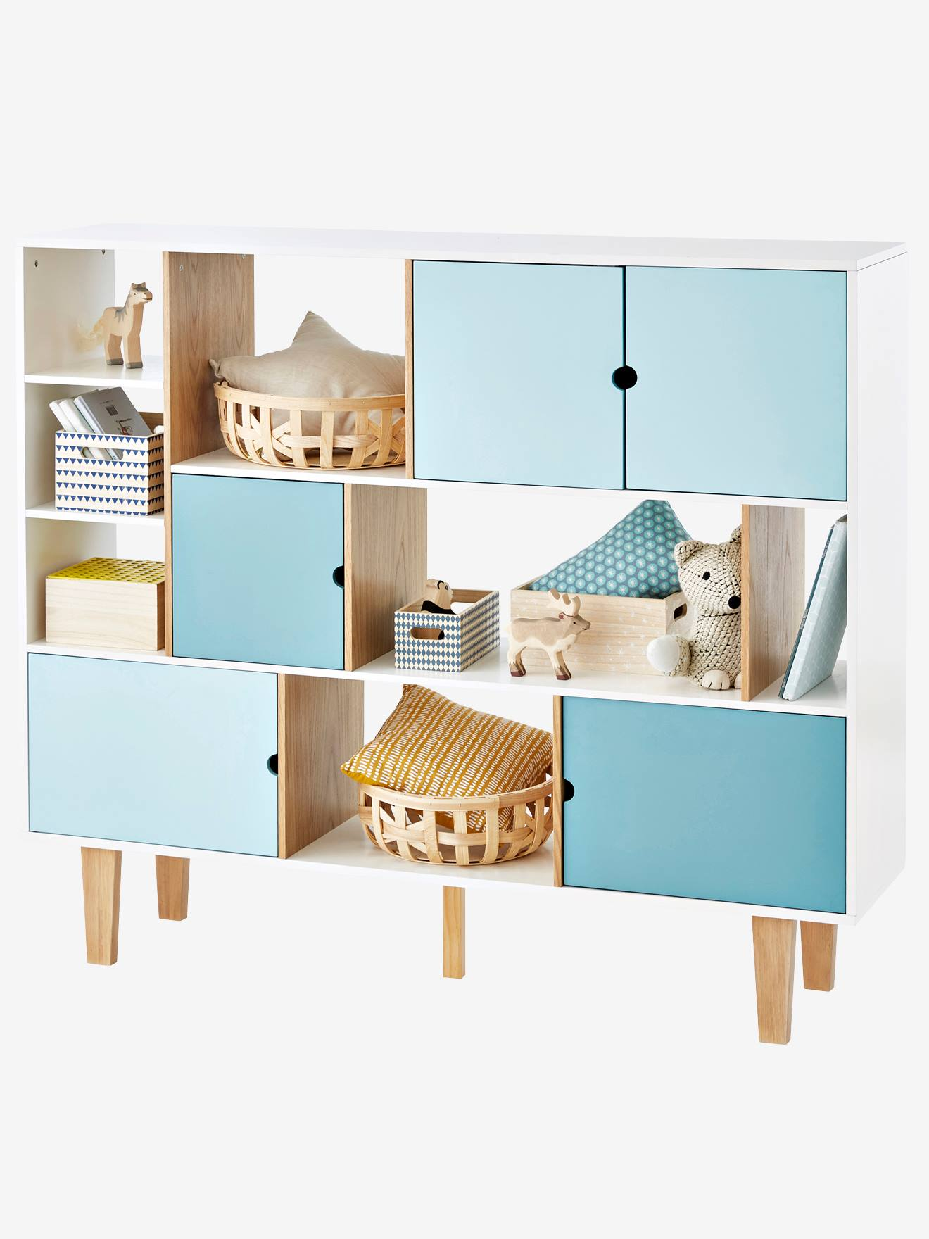 bibliotheque vertbaudet achat vente de bibliotheque pas cher. Black Bedroom Furniture Sets. Home Design Ideas