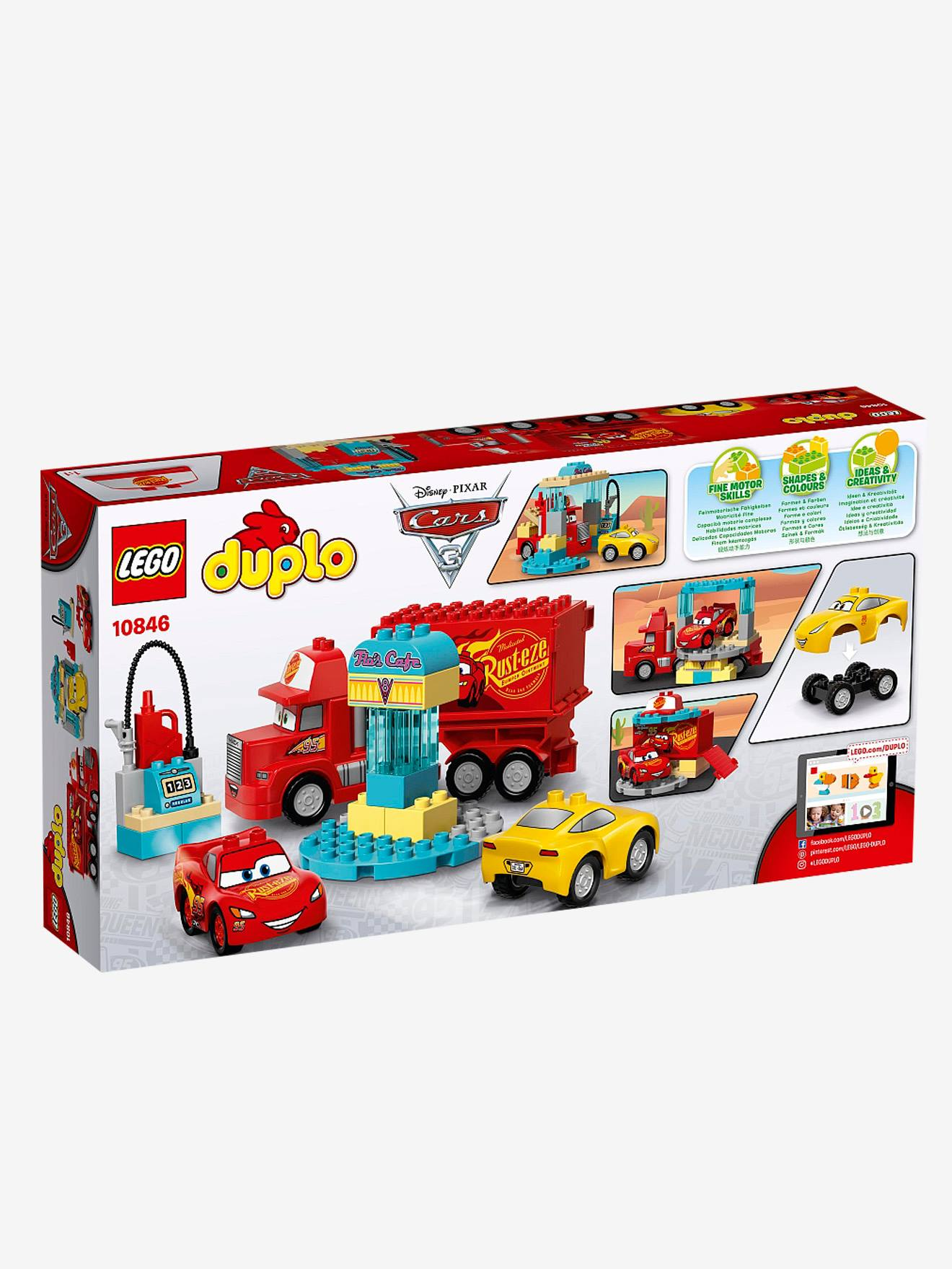 10846 De Café Lego Cars® Collection Multicolore Flo Duplo Le odWrBeCx