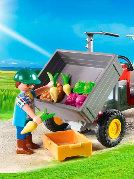 6131 Fermier avec faucheuse Playmobil Country Multicolore 4 - vertbaudet enfant