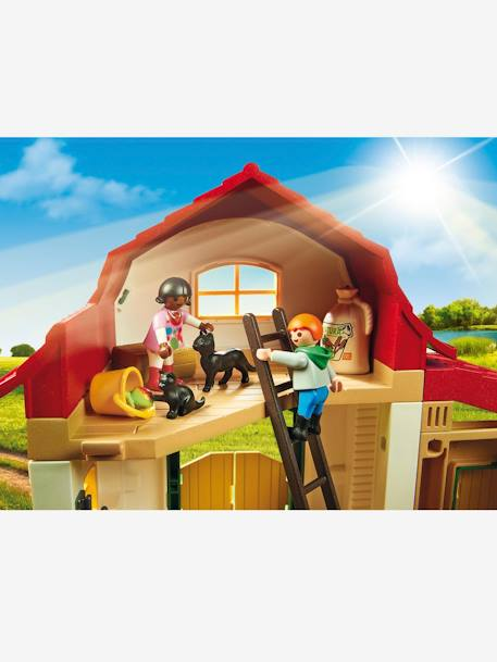 Poney club Playmobil country Multicolore 3 - vertbaudet enfant