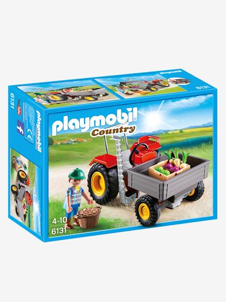 6131 Fermier avec faucheuse Playmobil Country Multicolore 1 - vertbaudet enfant