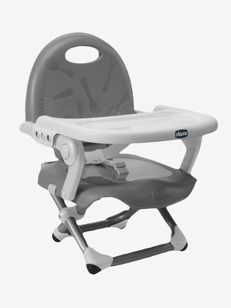 Rehausseur de chaise Pocket Snack CHICCO Gris 1 - vertbaudet enfant