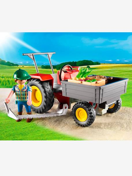 6131 Fermier avec faucheuse Playmobil Country Multicolore 3 - vertbaudet enfant