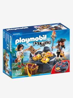 Jouet-Figurines et mondes imaginaires-6683 Pirates et trésor royal Playmobil Pirates