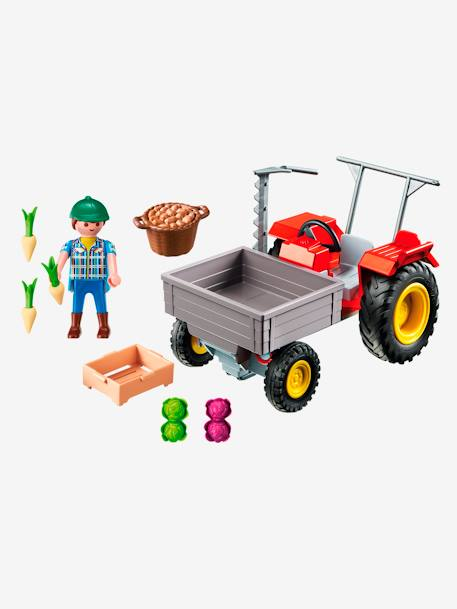 6131 Fermier avec faucheuse Playmobil Country Multicolore 2 - vertbaudet enfant