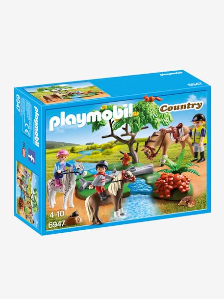 6947 Cavalier avec poney et cheval Playmobil Country Multicolore 1 - vertbaudet enfant