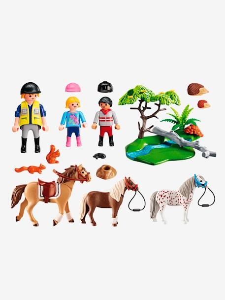 6947 Cavalier avec poney et cheval Playmobil Country Multicolore 2 - vertbaudet enfant