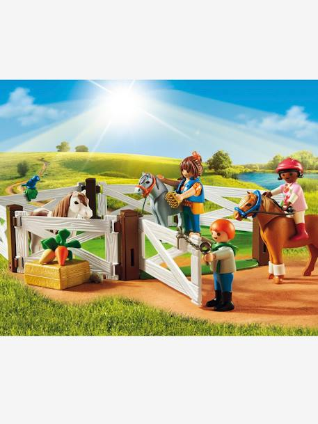 Poney club Playmobil country Multicolore 2 - vertbaudet enfant