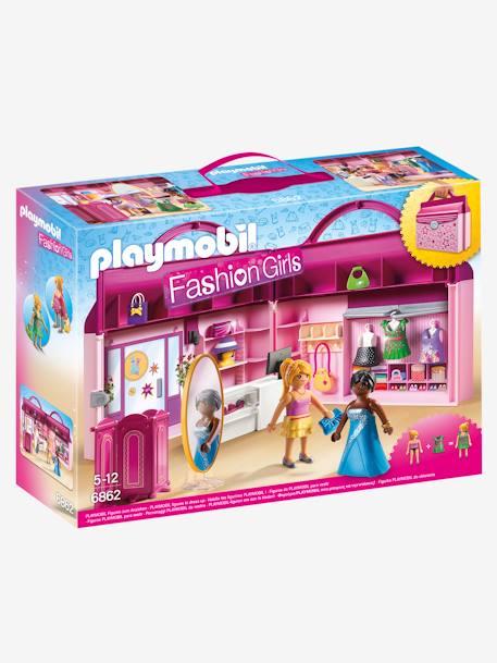 6862 Magasin Transportable Playmobil Princess Multicolore Playmobil