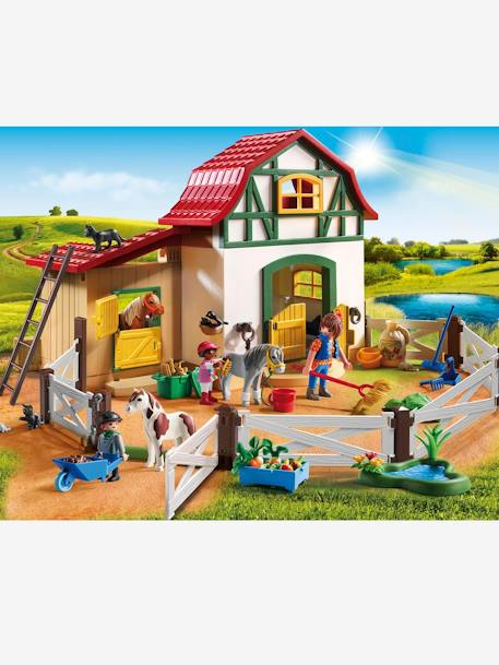 Poney club Playmobil country Multicolore 4 - vertbaudet enfant