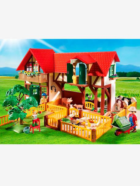 6120 La grande ferme Playmobil Country Multicolore 4 - vertbaudet enfant