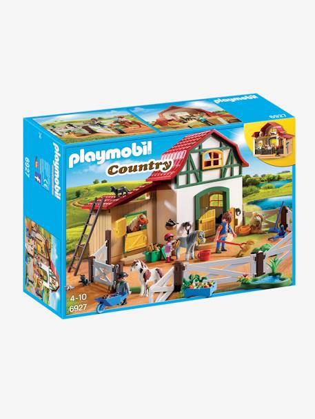 Poney club Playmobil country Multicolore 1 - vertbaudet enfant