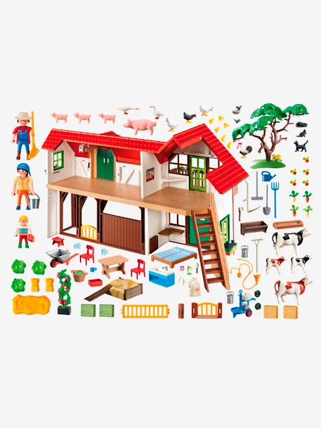 6120 La grande ferme Playmobil Country Multicolore 2 - vertbaudet enfant