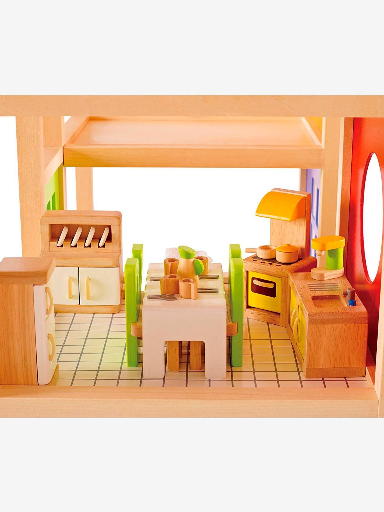Cuisine enfant vertbaudet cuisine en bois hape - Vertbaudet cuisine en bois ...