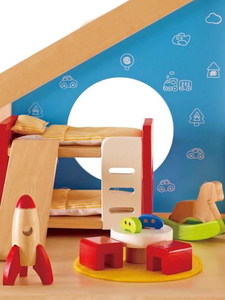 Chambre d\'enfant en bois Hape multicolore - Hape