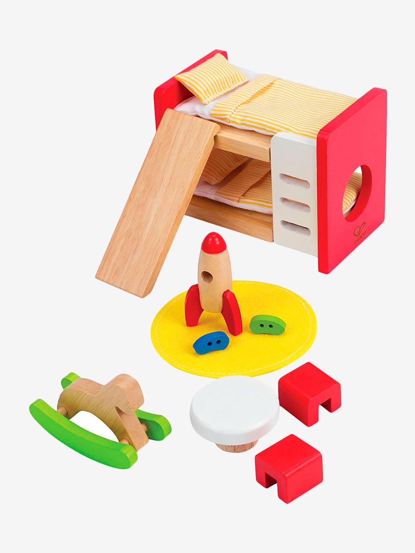 Chambre d'enfant en bois Hape multicolore