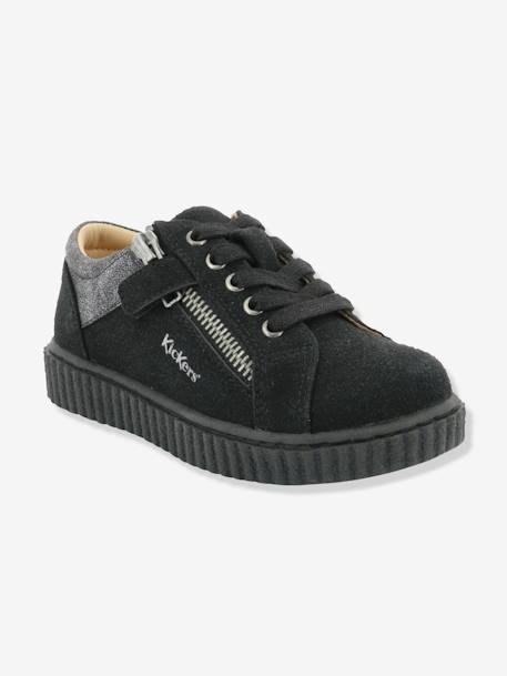Baskets fille Freadom KICKERS® à zip Noir 4 - vertbaudet enfant