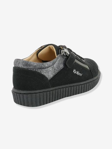 Baskets fille Freadom KICKERS® à zip Noir 1 - vertbaudet enfant