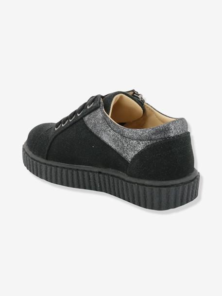 Baskets fille Freadom KICKERS® à zip Noir 2 - vertbaudet enfant