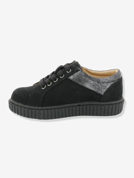 Baskets fille Freadom KICKERS® à zip Noir 8 - vertbaudet enfant