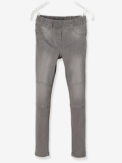 Fille-Pantalon-Tregging  MorphologiK fille en denim tour de hanches LARGE