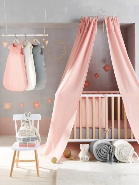 cerceau pour ciel de lit gris 4 vertbaudet enfant - Ciel De Lit Fille