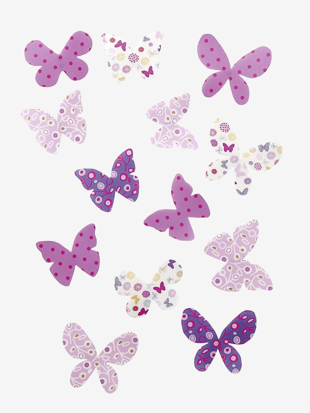 VERTBAUDET Lot de 14 Papillons d/éco Enfant Multicolore TU