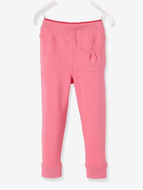 Pantalon fille en molleton Collection Maternelle Marine+Rose 7 - vertbaudet enfant