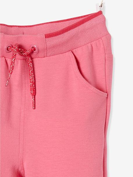 Pantalon fille en molleton Collection Maternelle Marine+Rose 8 - vertbaudet enfant