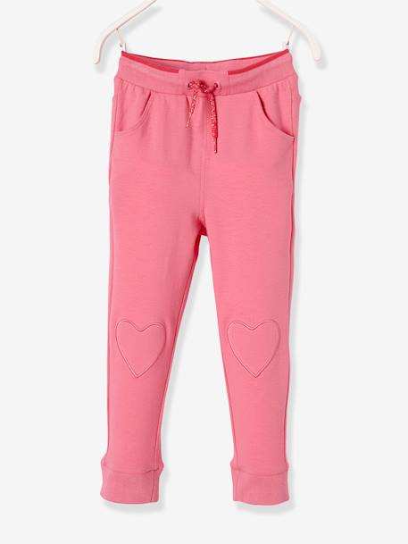 Pantalon fille en molleton Collection Maternelle Marine+Rose 6 - vertbaudet enfant
