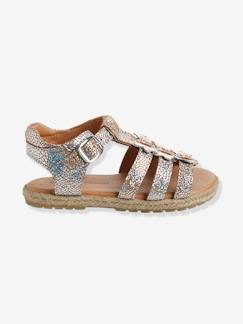 Chaussures-Chaussures fille 23-38-Sandales-Sandales cuir fille collection maternelle