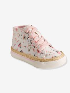 Outlet-Baskets montantes fille en toile