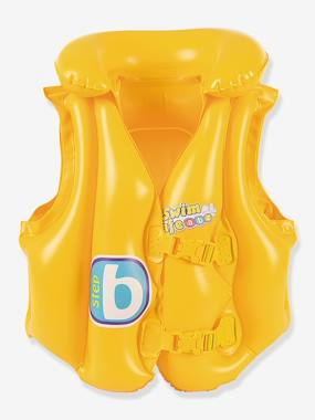 Gilet de natation gonflable wdk swin safe jaune