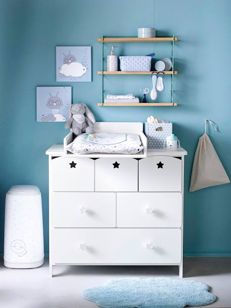 plan langer pour commodes b b blanc vertbaudet. Black Bedroom Furniture Sets. Home Design Ideas