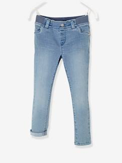 Fille-Pantalon-Jean slim fille tour de hanches LARGE Collection Maternelle
